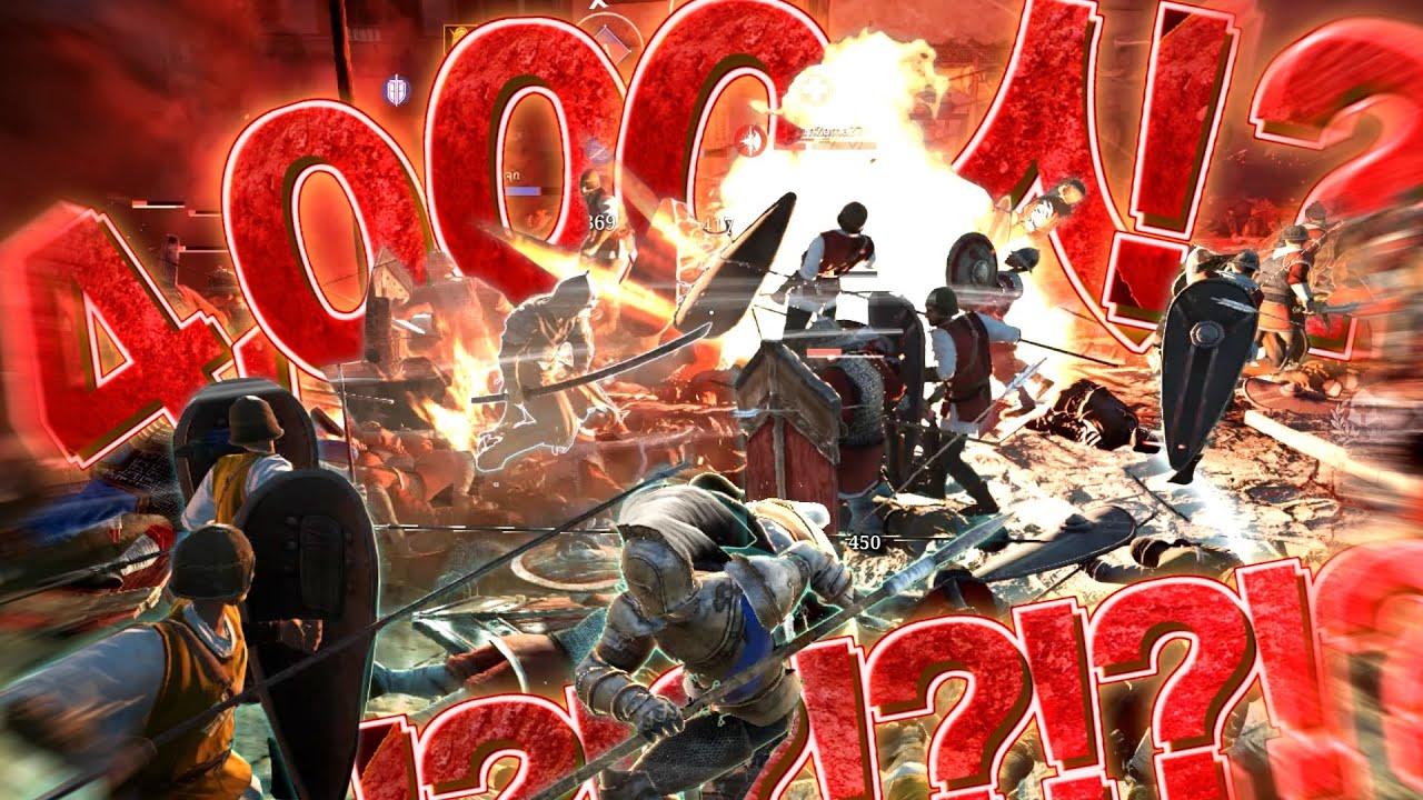 【ゆっくり実況】1試合4000人が参戦!?64人対戦が霞んで見える中世MMORPGの規模がやべえ!【コンカラーズブレード/Conqueror's Blade】