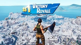 WIN EVERY FORTNITE GAME BY STAYING IN THE SKY IN SEASON 7 GLITCH