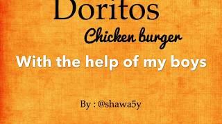 Doritos chicken burger