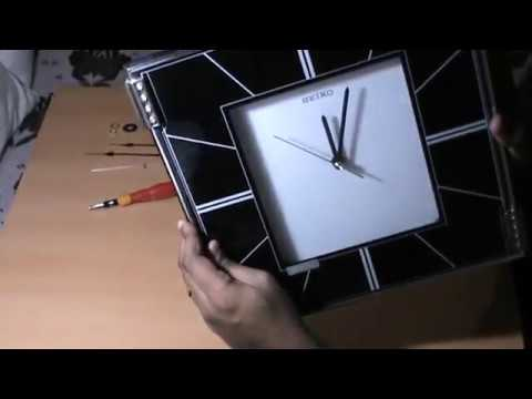 DIY - Repairing a Seiko Wall Clock - Quick and Easy