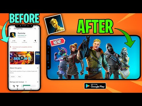 Finally! How To Download Fortnite On Unsupported Devices (Not Clickbait)