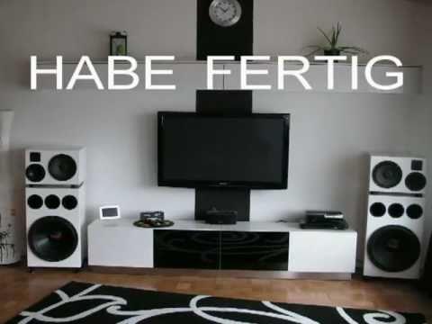 Neulackierung Vom 4 Wege Lautsprechersystem Aus Meinem Wohnzimmer