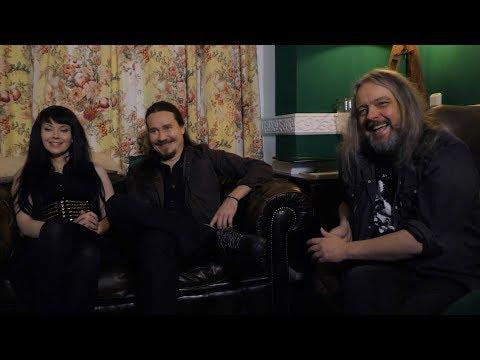AURI interview - Johana Kurkela, Tuomas Holopainen, & Troy Donockley (part 1)
