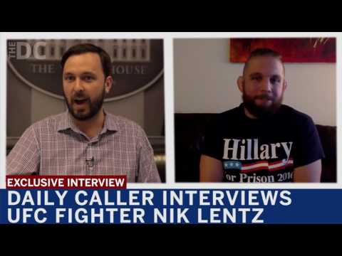 Daily Caller Interviews UFC Fighter Nick Lentz