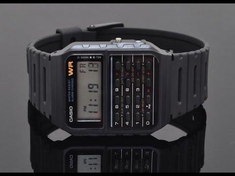 Casio Ca53w Calculator Watch Review
