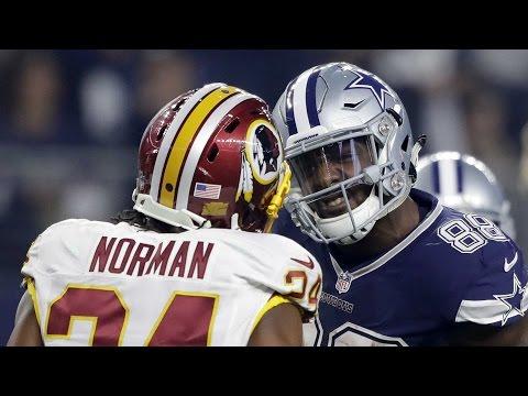 Dez Bryant VS Josh Norman Redskins & Dallas All 22 Study Film
