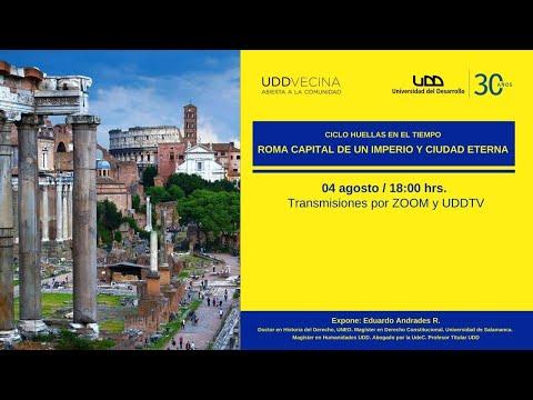 Roma, capital de un imperio y ciudad eterna