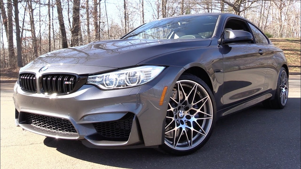 M4 Competition Package >> 2017 Bmw M4 Competition Package Start Up Road Test In Depth Review