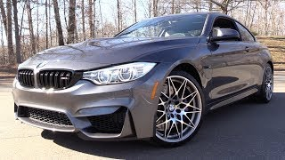 2017 BMW M4 Competition Package: Start Up, Road Test & In Depth Review