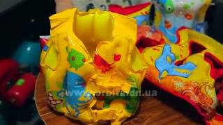 видео Детский надувной круг, жилет для плавания, круг на шею для купания – что выбрать ребенку?