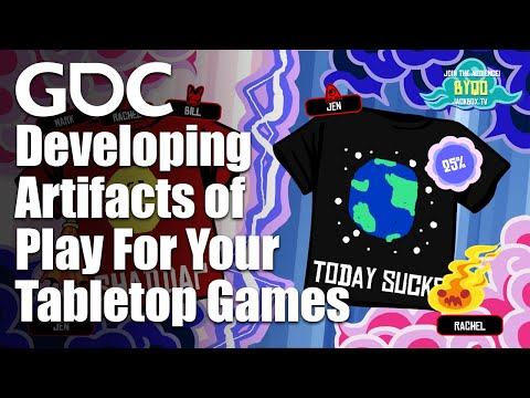 Developing Artifacts Of Play For Your Tabletop Games