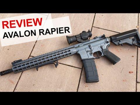 Review VFC Avalon Rapier - Schusstest bis 60 Meter - 4k/UHD