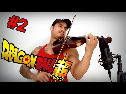 DRAGON BALL SUPER  Theme 2  by Douglas Mendes Violin Cover