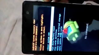 How to hard reset xolo era/unlock pattern lock/ any android device