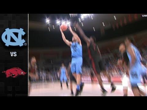 North Carolina vs. Arkansas Basketball Highlights (2017)