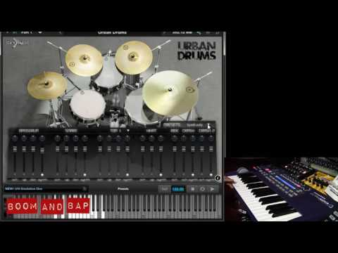 Boom and Bap: Acoustic Samples Urban Drums