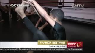 Faahkir Bestman, 10 ans, star du ballet sud-africain