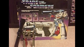 TRANSFORMERS G1 DECEPTICON MEGATRON UNBOXING TOY REVIEW