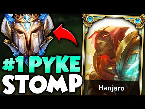 WHEN THE RANK 1 PYKE WORLD GOES FULL TRY-HARD IN RANKED (NOT EVEN FAIR) - League Of Legends