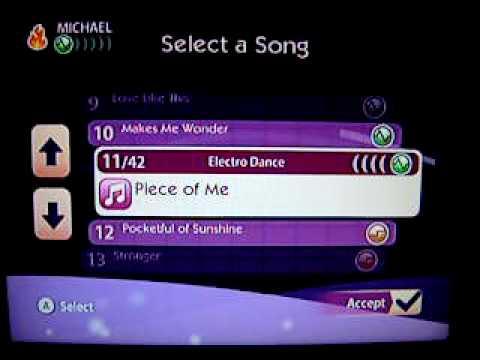 Boogie Superstar Complete Song List