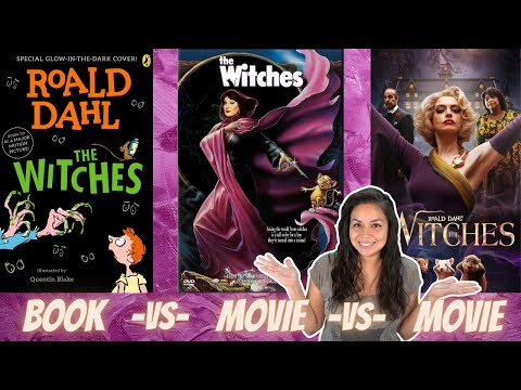 The Witches by Roald Dahl | Book vs Movie