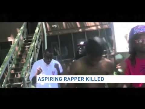Aspiring rapper killed while making video