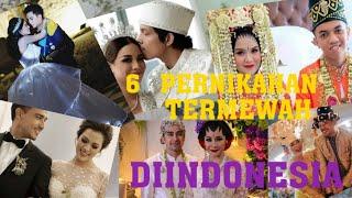 6 pernikahan Artis indonesia termewah dan termahal