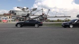 BMW 7er-Treffen an der Ferropolis 2014: Konvoi-Abfahrt