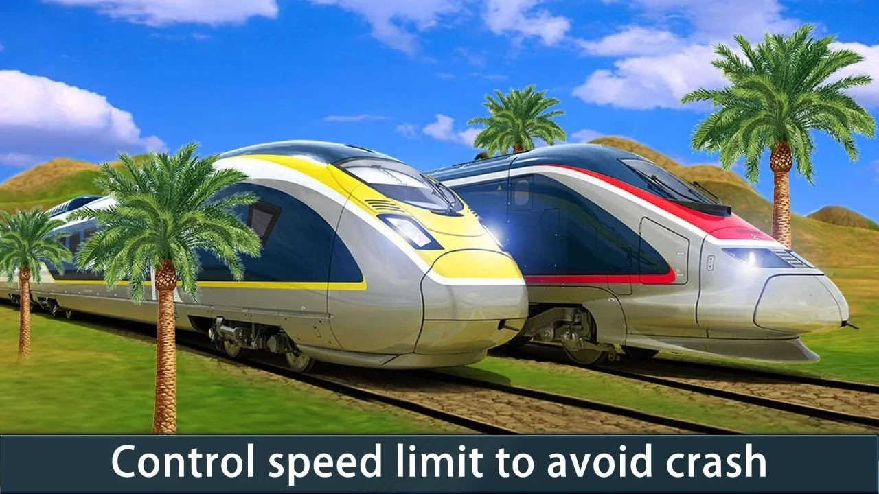 Modern Train Race 3D / Train Drive Simulation / Children / Baby / Android  Gameplay Video