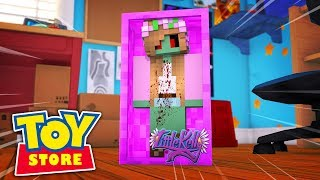 LITTLE KELLY TURNS INTO A ZOMBIE DOLL! Minecraft Toystore