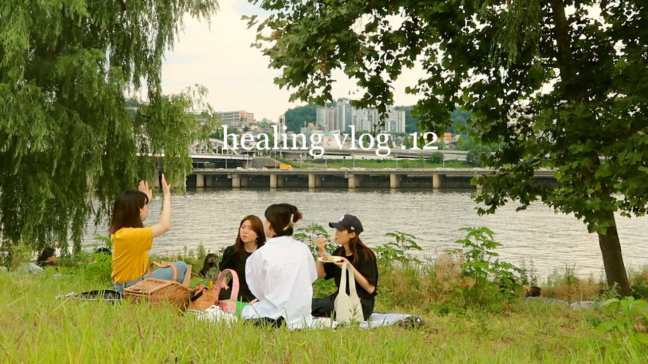 Summer in Korea: Cooking for picnic to small island, aesthetic cafes, bicycle rides & more | Q2HAN