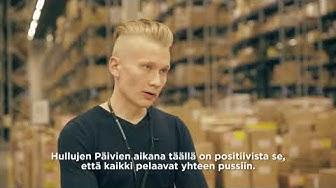 Barona Logistiikka - Etsimme varastotyöntekijöitä Stockmannin Hulluille Päiville!