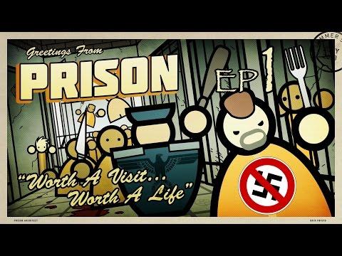 Escaping The Nazi : Prison Architect Part 1