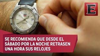 Este 30 de octubre arranca en México el Horario de Invierno