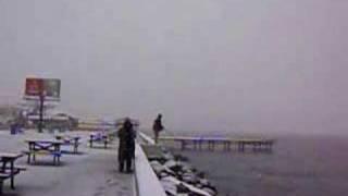 Mudanyada karda levrek avı
