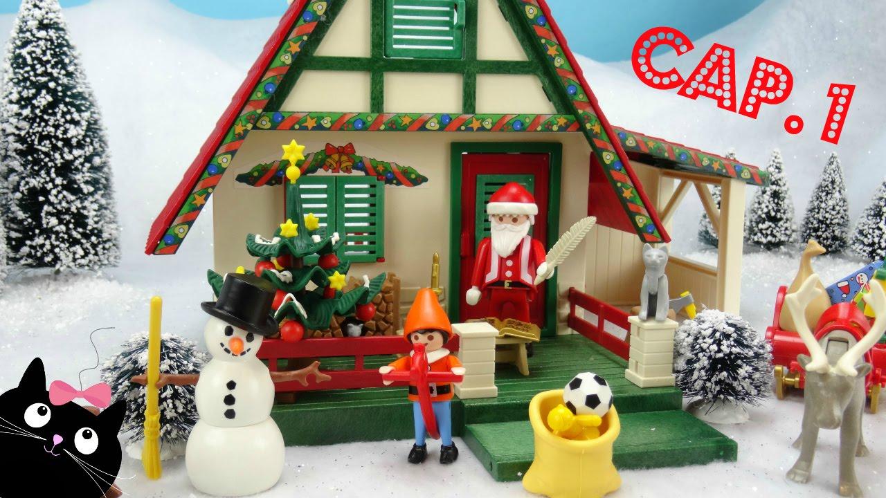 George pig y el regalo olvidado de papa noel v deos de juguetes peppa pig navidad youtube - La casa de papa noel alicante ...