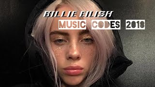 BILLIE EILISH ROBLOX music codes 2018 October-