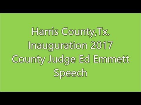 Harris County,Tx.-Inauguration 2017-Sheriff and Pct 6 Constable Oath of Office