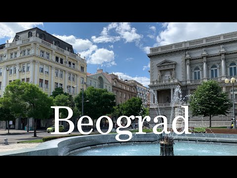 Belgrade in August (2021) SERBIA
