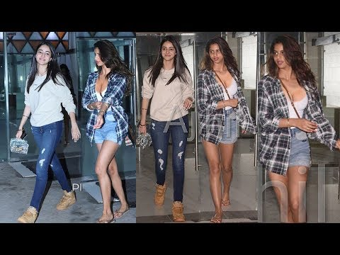 Shahrukh Khan's H0T Daughter Suhana Khan & Ananya Pandey Outside Shanaya Kapoor's House AfterParty Mp3