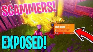 Going AFK Whilst Trading SCAMMERS My GRAVEDIGGER! *MUST SEE* | Fortnite Save The World
