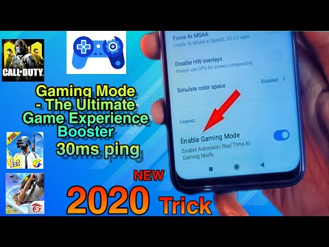 BEST GAME BOOSTER FOR ANDROID 2020 | ENABLE GAMING MODE ANY DEVICE |BOOST ANDROID GAMING PERFORMANCE