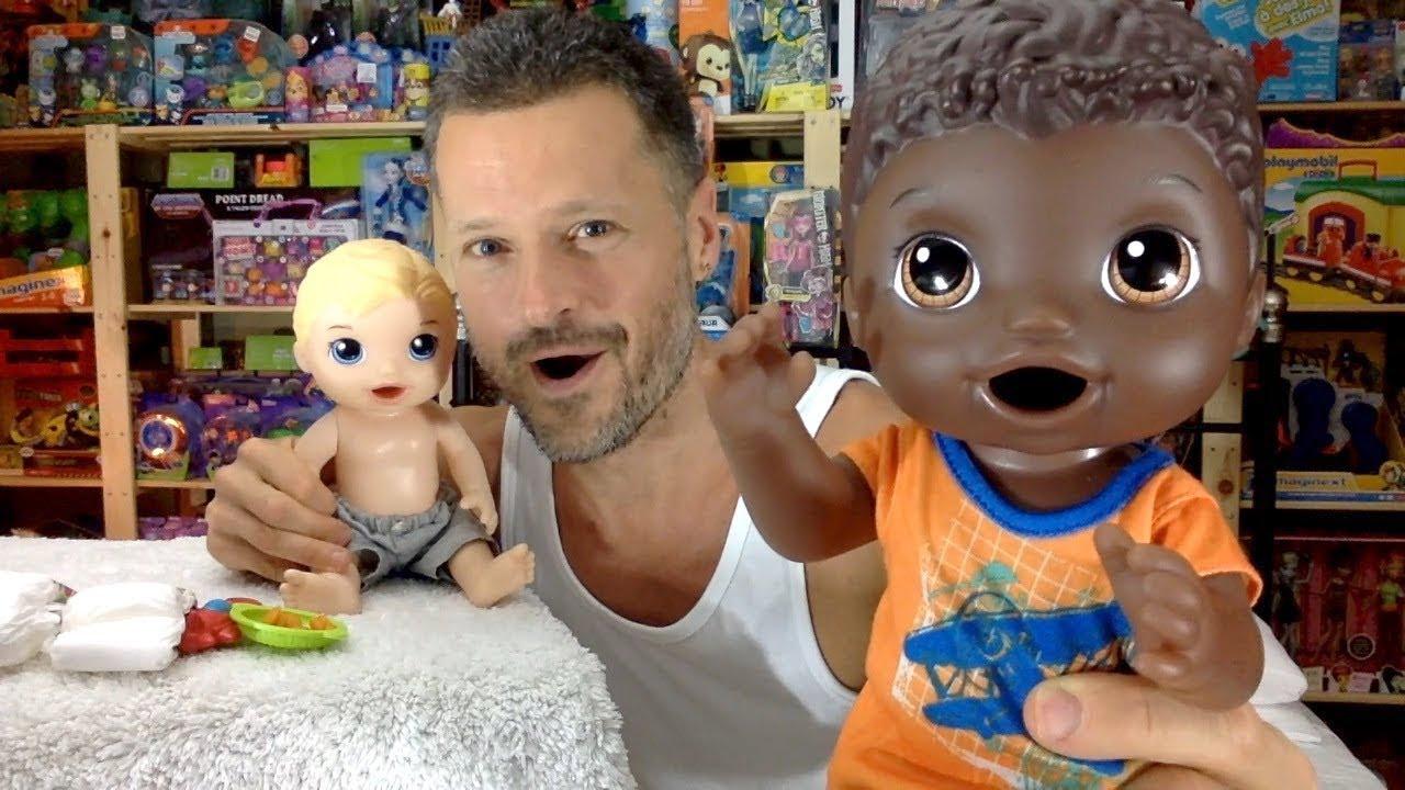 Baby Alive Super Snacks Snackin Luke African American