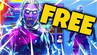 TIP TO GET SKIN GALAXY TOTALLY FREE (LA SKIN MOST EXCLUISTIVE) FORTNITE: BATTLE ROYALE