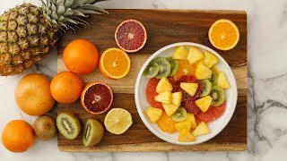 Tropical-Fruit Juice Salad- Martha Stewart