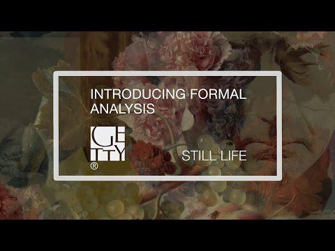 Introducing Formal Analysis: Still Life