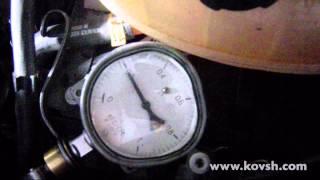 Проверка помпы СО на Opel Vivaro 2.0 CDTi