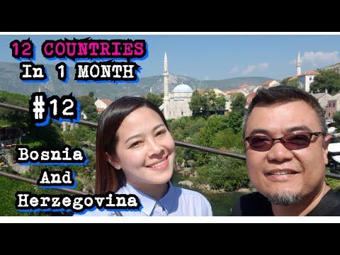 Bosnia-Herzegovina travel vlog 2018!