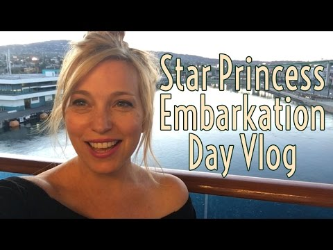 Star Princess cruise vlog Day 1 - Embarkation