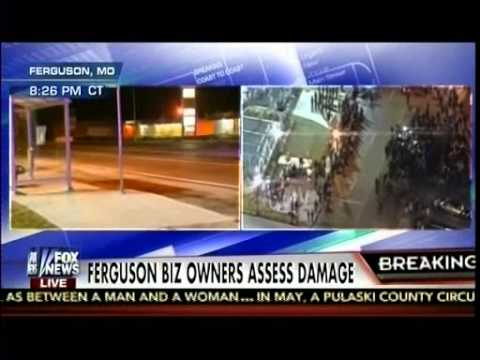 Ferguson Biz Owners Assess Damage - Why National; Guard Were Not Called Up? -The Kelly File